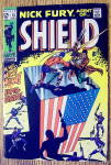 Click here to enlarge image and see more about item 16705: Nick Fury Agent Of Shield Comic #13 July 1969 Patriot