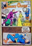 Click here to enlarge image and see more about item 16715: DC Comics Superman's Pal Jimmy Olsen #112 July 1968