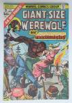 Click here to enlarge image and see more about item 16726: Werewolf Giant Size Comic January 1975 Transylvania