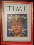 Click to view larger image of Time Magazine -October 19, 1942- General Marshall Cover (Image1)