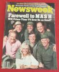 Newsweek Magazine-February 28, 1983-Farewell MASH