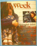 TV Week-December 15-21, 1996 Anjelica Huston
