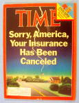 Time Magazine March 24, 1986 Insurance Has Canceled