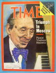 Click to view larger image of Time Magazine May 5, 1986 Pianist Vladimir Horowitz (Image1)