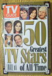 Click to view larger image of TV Guide December 14-20, 1996 50 Greatest TV Stars (Image1)