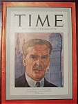 Time Magazine - February 8, 1943 - Anthony Eden Cover