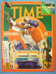 Time Magazine January 16, 1978 Super Bowl XII