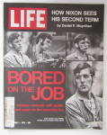 Life Magazine September 1, 1972 Bored On The Job
