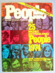 Click to view larger image of People Magazine Dec 30-Jan 6, 1975 25 Intriguing People (Image1)