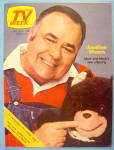 TV Week October 25-31, 1981 Jonathan Winters