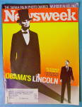 Click to view larger image of Newsweek Magazine November 24, 2008 Obama's Lincoln (Image1)