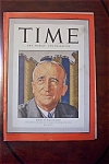 Time Magazine -January 11, 1942- Byrnes of War Economy