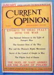 Current Opinion Magazine January 1915