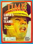 Time Magazine December 21, 1981 Libya's Hit Teams