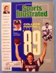 Sports Illustrated Magazine September 4, 1989 Football