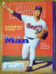 Click to view larger image of Sports Illustrated Magazine April 15, 1991 Nolan Ryan (Image1)