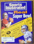 Sports Illustrated Magazine January 16, 1995 Super Bowl