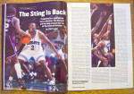 Click to view larger image of Sport Illustrated Magazine March 6, 1995 J. Stackhouse (Image5)