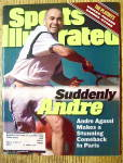 Click to view larger image of Sports Illustrated Magazine June 14, 1999 Andre Agassi (Image1)