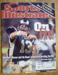 Sport Illustrated Magazine October 9, 2000 Kurt Warner