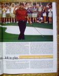Click to view larger image of Sports Illustrated Magazine April 16, 2001 Tiger Woods (Image5)