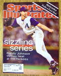 Sports Illustrated Magazine November 5,  2001 Randy J.