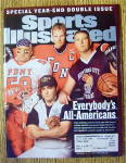 Click to view larger image of Sports Illustrated Magazine December 24-31, 2001 (Image1)
