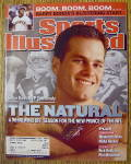 Click to view larger image of Sports Illustrated Magazine April 15, 2002 Tom Brady (Image1)