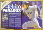 Click to view larger image of Sports Illustrated Magazine July 8, 2002 Ichiro (Image4)