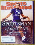 Sports Illustrated Magazine December 16, 2002 Lance