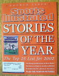 Sports Illustrated Magazine Dec 30, 2002-Jan 6, 2003
