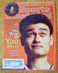 Click to view larger image of Sports Illustrated Magazine February 10, 2003 Yao Ming (Image1)