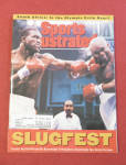 Click to view larger image of Sports Illustrated Magazine April 29, 1991 Slugfest (Image1)