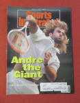 Sport Illustrated Magazine July 13, 1992 Andre Agassi