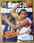 Sports Illustrated Magazine March 9, 1998 Allen Iverson