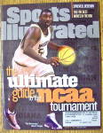 Sports Illustrated Magazine March 16, 1998 Rob Traylor