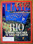 Click to view larger image of Time Magazine-June 1, 1992-Rio (Image1)