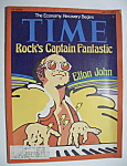 Time Magazine - July  7, 1975 - Elton  John