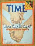 Time Magazine April 23, 1979 How Gay Is Gay?