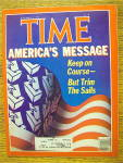 Click to view larger image of Time Magazine-November 15, 1982-America's Message (Image1)
