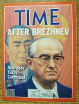 Time Magazine-November 22, 1982-After Brezhnev