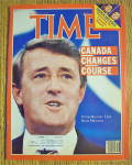 Time Magazine-September 17, 1984-Brian Mulroney