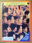 Time Magazine-July 8, 1985-Immigrants