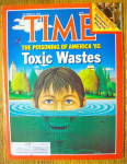Time Magazine-October 14, 1985-Toxic Wastes