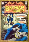 Click here to enlarge image and see more about item 18349: Batman And Robin Comic #395 January 1970 Instant Death