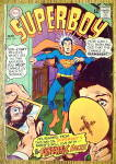 Click here to enlarge image and see more about item 18356: Superboy Comic #145 March 1968 Fantastic Faces
