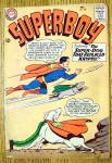 Superboy Comic #109 December 1963 Super Dog