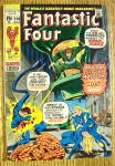 Fantastic Four Comic #108 March 1971 Mega-Man