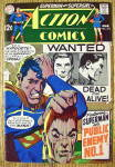 Click here to enlarge image and see more about item 18379: Action Comics #374 March 1969 Public Enemy # 1