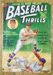Baseball Thrills Comic #10 Summer 1951 Bob Feller
